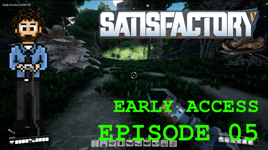 Satisfactory Early Access – Episode 05: Faster Conveyor Belts and Poor Reading Comprehension
