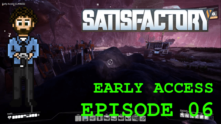Satisfactory Early Access – Episode 06: Coal Runnings