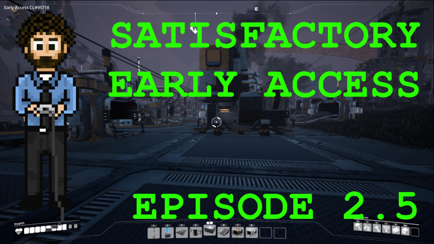 Satisfactory Early Access – Episode 2.5: Improving Efficiency by Splitting and Merging
