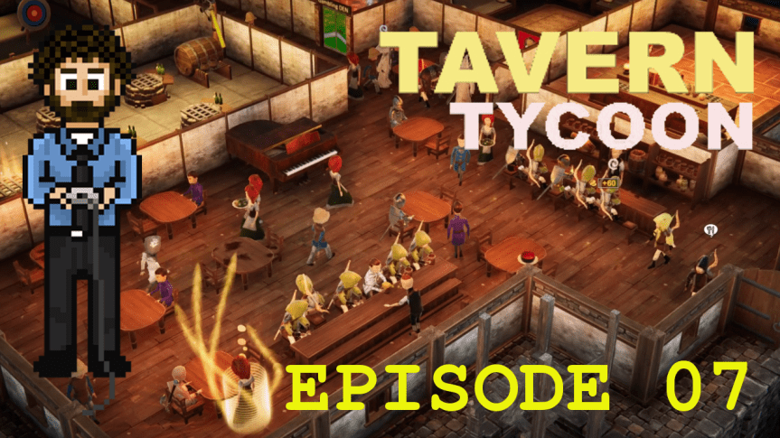 Tavern Tycoon – Episode 07: Pirate Bay of Blue Seas