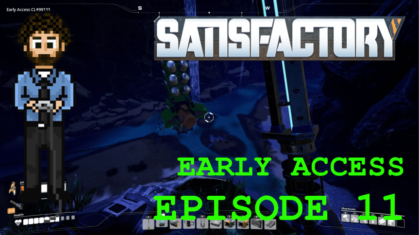 Satisfactory Early Access – Episode 11: Caterium, Supercomputers, and Geothermal Power