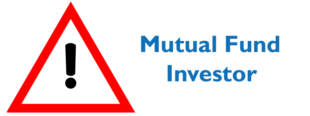 Avoid common mistakes mutual fund investors make
