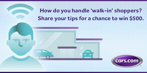 Cars.com Walk-in Challenge