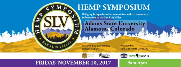 2nd Annual San Luis Valley Hemp Symposium in Alamosa, CO