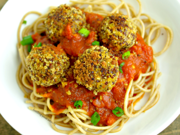 WEEKLY RECIPE – Vegan Lentil Quinoa Hemp Seed Meatballs