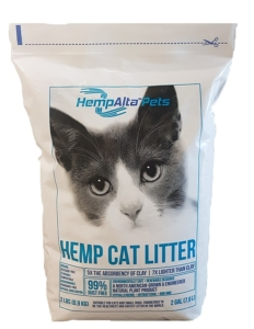 Product of the Week – HempAlta™Pets Lightweight Hemp Cat Litter