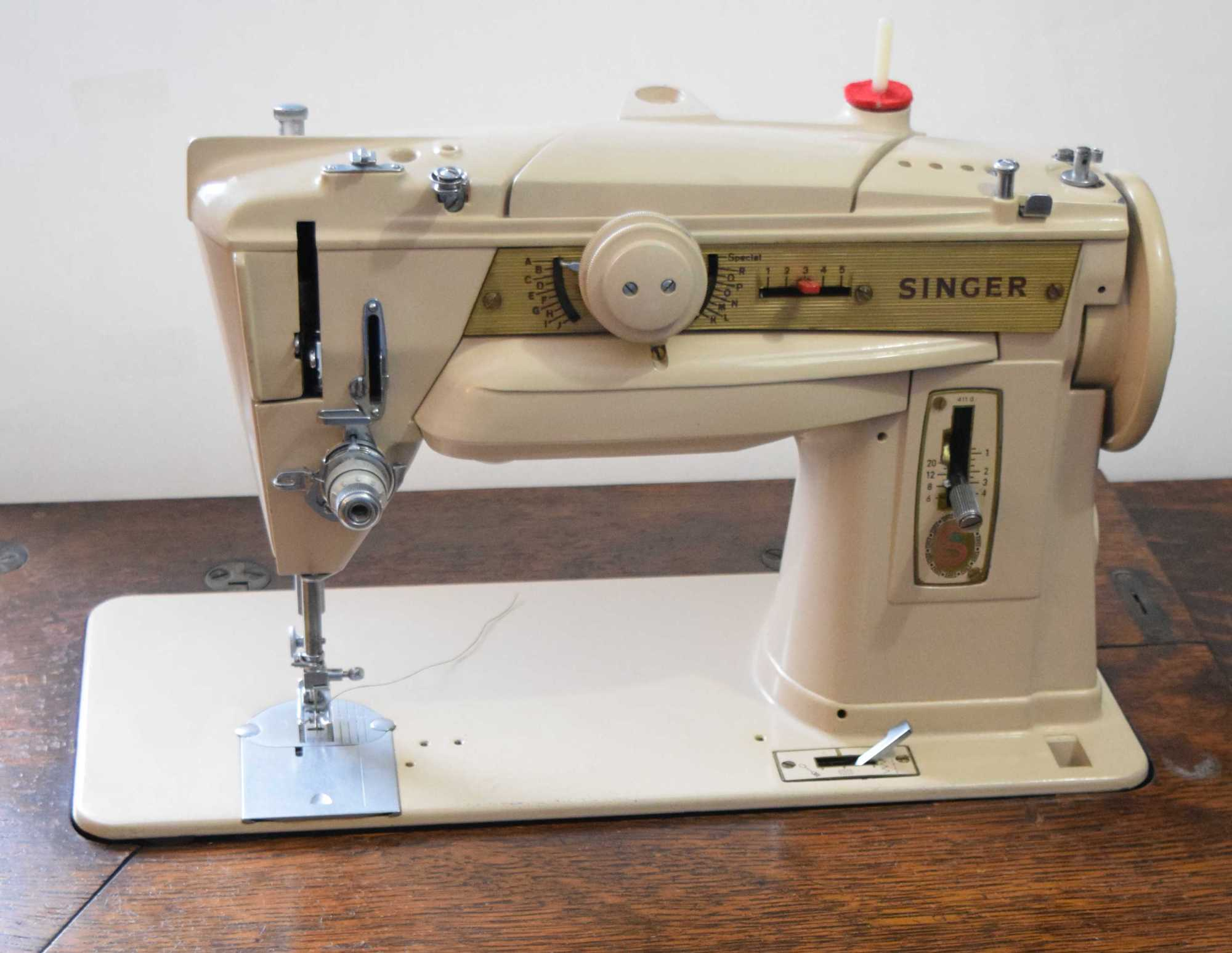 hight resolution of my singer 411g grow your own clothes singer 411 sewing machine threading diagram