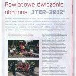Ćwiczenia ITER 2012
