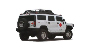 Red Cross Hummer