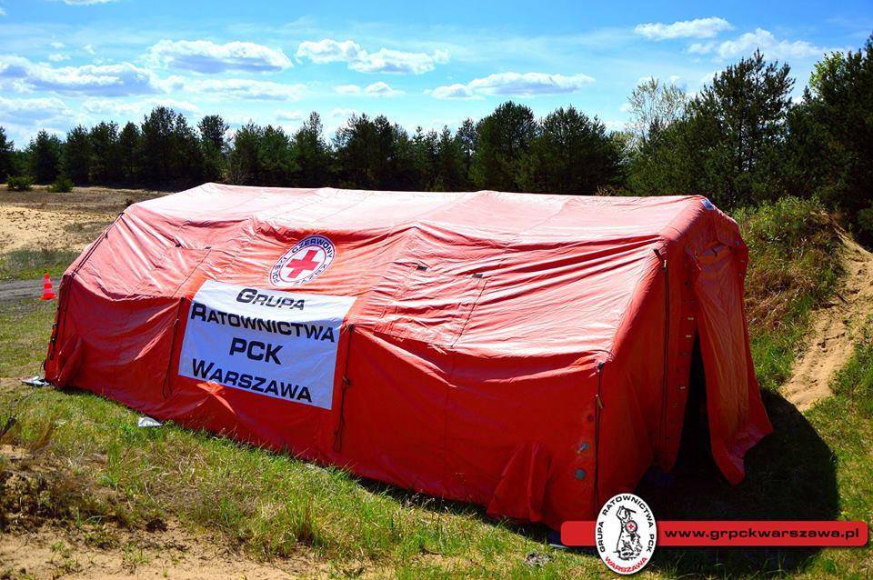 Namiot pneumatyczny Lubawa