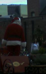 santa in oldtown