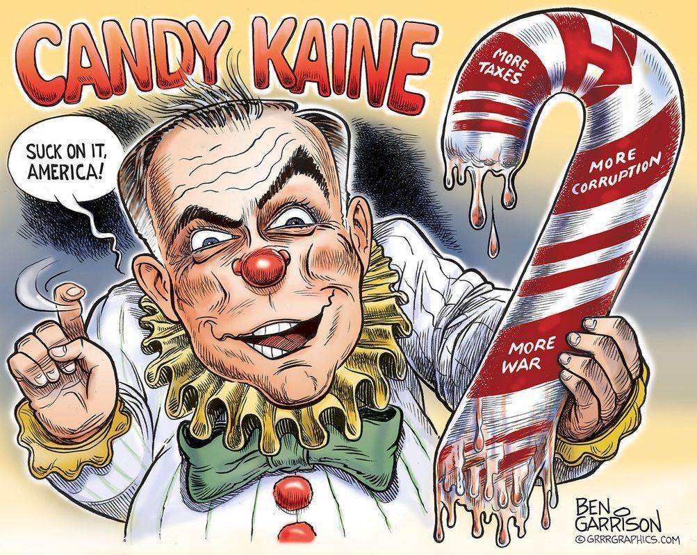 candy kaine clown grrr