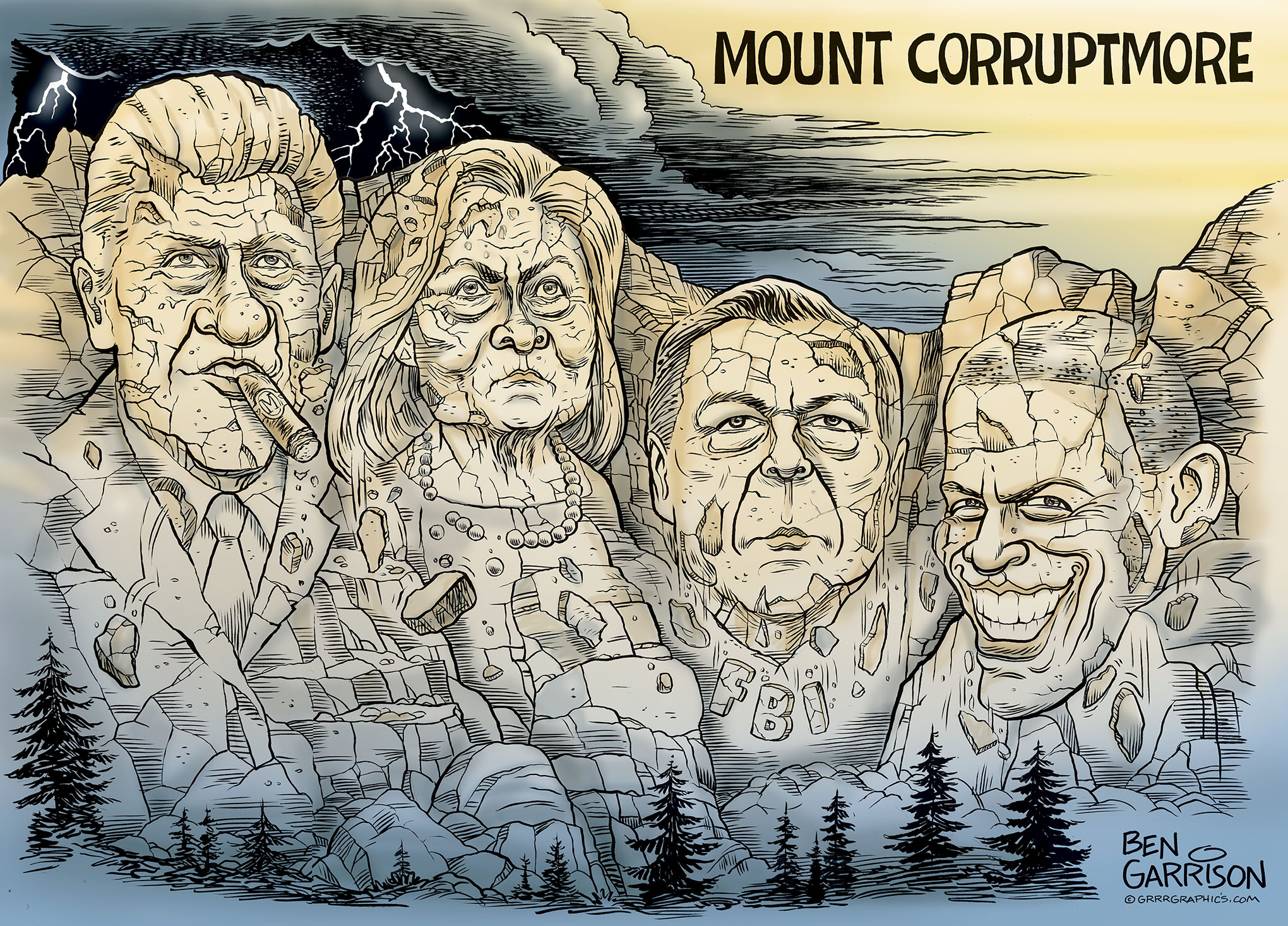 Amendment Cartoon Political 15th