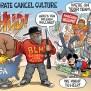 Corporate Cancel Culture Ben Garrison Cartoon