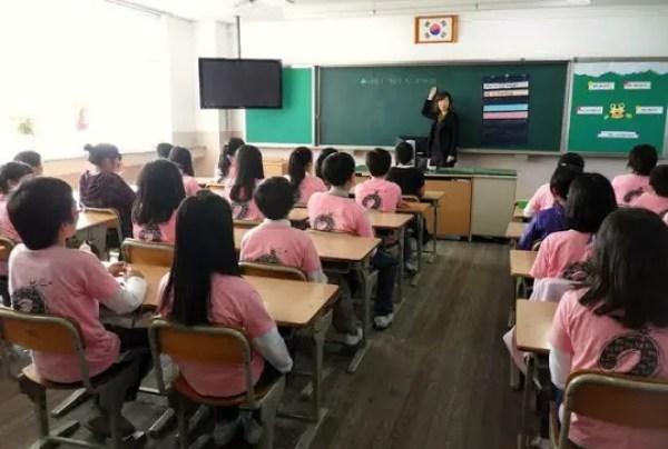 Korea's model schools, PCs in Korean, workplace computers in Korea, teaching English in Korea, what is it like teaching English in Korea, teaching schedule in Korea, English lesson plans in Korea
