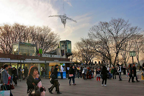 Getting to Namsan Seoul Tower, top attractions in seoul, top places to visit in seoul, locks of love