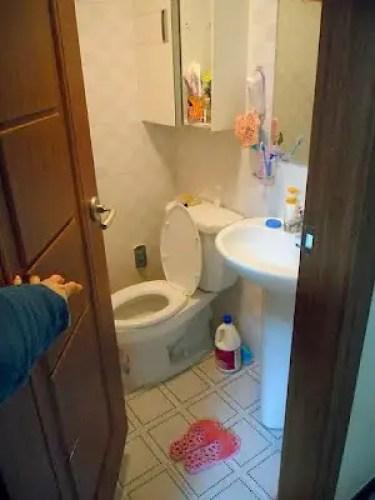 korean apartment bathroom, asian bathroom