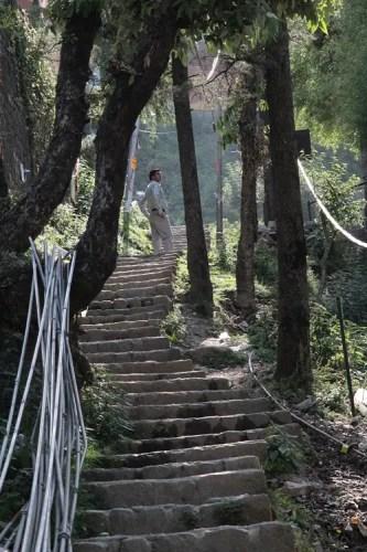 bad water system in dharamsala, dharamsala water piping system, dharamsala water problem, water in dharamsala