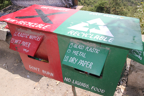 environmental recycling in india, dharamsala clean environment programs, keep dharamsala clean