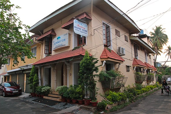 Sonnaight Inn, Fort Cochin