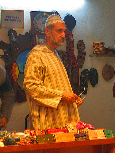 moroccan leather dealer