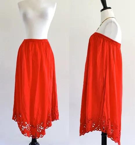 convertible dress skirt