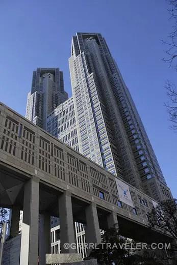 tokyo metropolitan government building, best view of tokyo, tokyo attractions