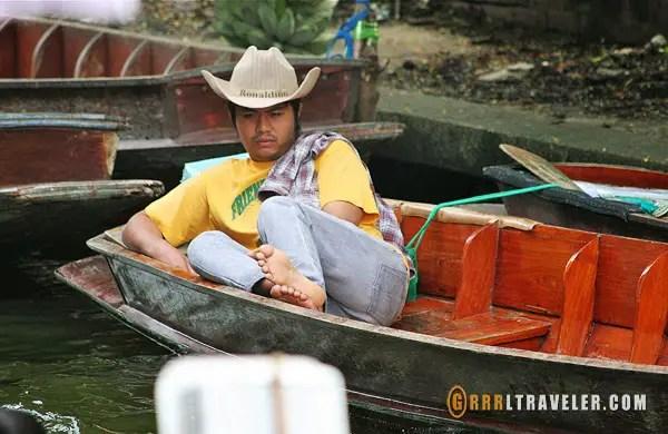damnoen saduak floating market, bangkok klong tours