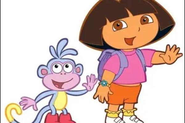 dora the explorer, animated educational kids shows