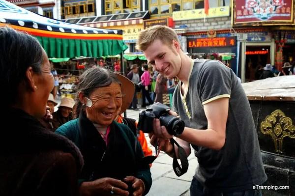 llhasa tourism, etramping lhasa tibet, visiting tibet, lhasa people, tibetan people