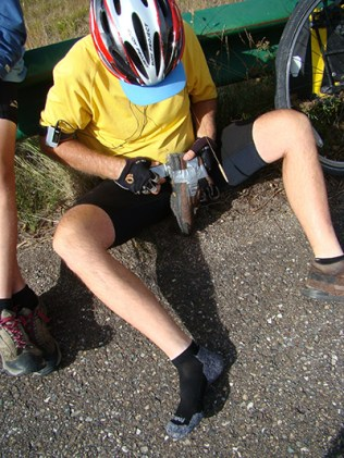 family on bikes, ways to use duct tape, family travel bloggers