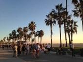 Venice Beach at Sunset, World's best boardwalks, best boardwalks in the world.