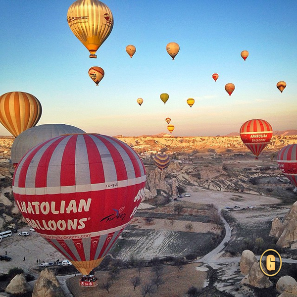 hot air balloon ride cappadocia, voyager balloons cappadocia,  Top 5 Instagrams, traveling from Greece to Turkey, top things to do greece, top things to do turkey
