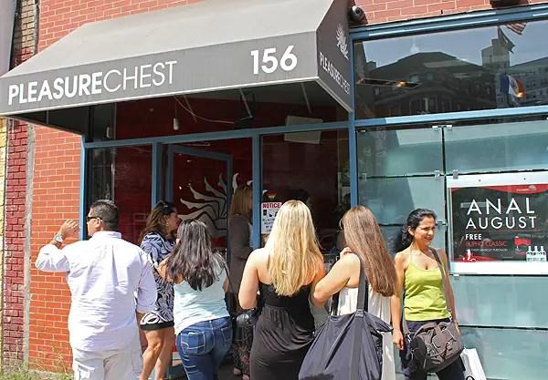 pleasure chest new york, pleasure chest nyc, sex & city pleasure chest location