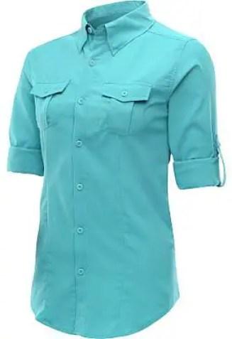 Columbia-Womens-Tamiami-Long-Sleeve-Shirt, alpine design UV SPF shirt