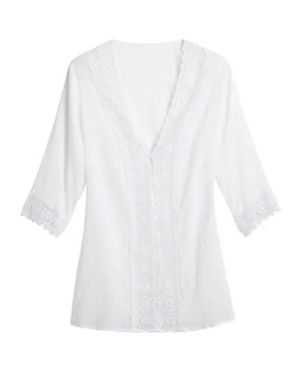 la blanca island tunic coverup