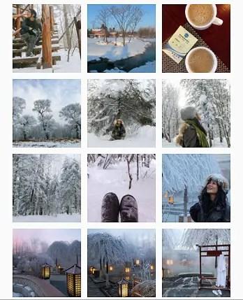 Jilin instagram images
