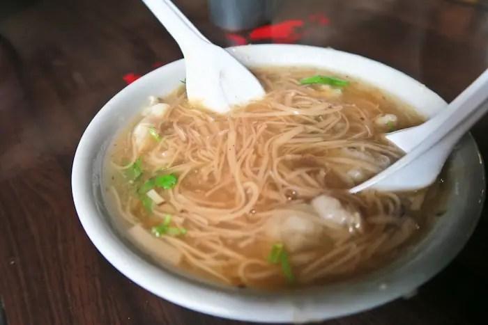 top taiwan foods, flour noodle soup
