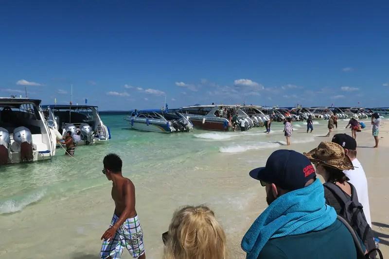 phi phi island speedboat tour review, ko phi phi speedboat tours