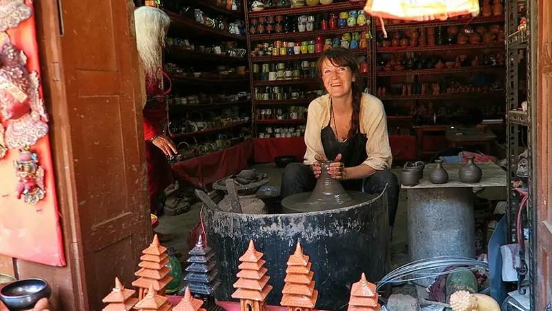 pottery workshop bhaktapur