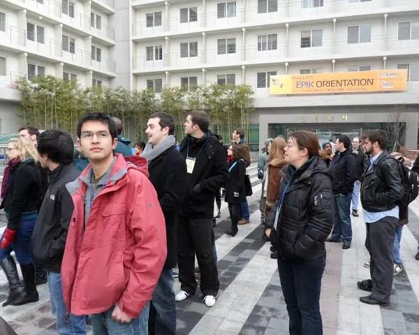 EPIK Orientation for Native English Teachers in Korea