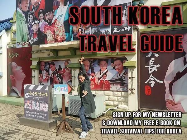travel south korea, korea travel guide, korea travel