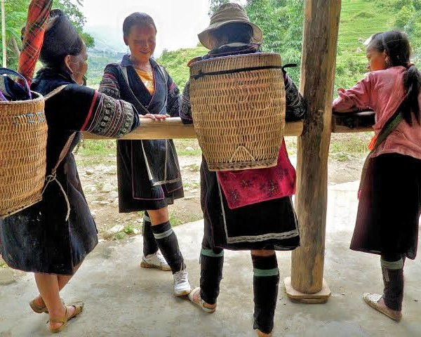 hmong guides, trekking guides sapa