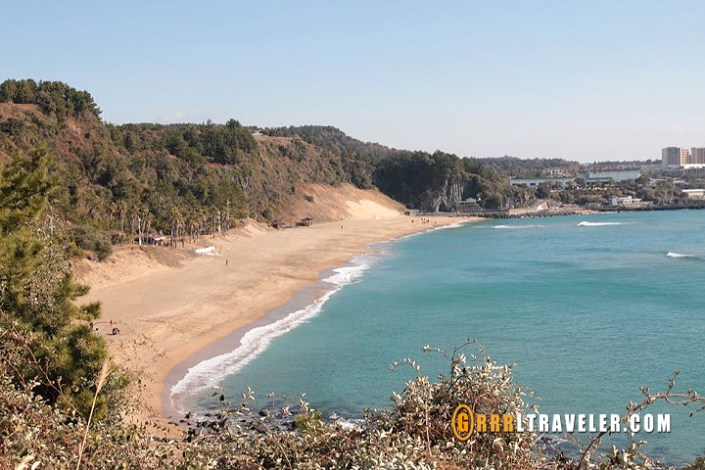 jungmun beach jeju
