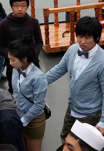 koreas matching couple t-shirts