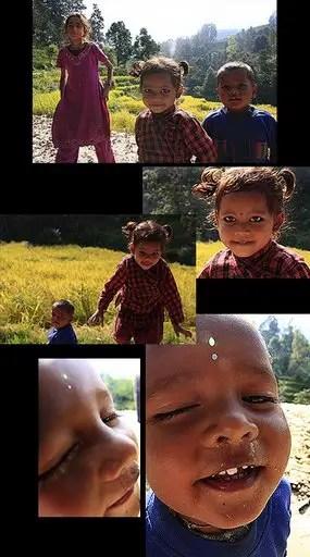 nepalese village children