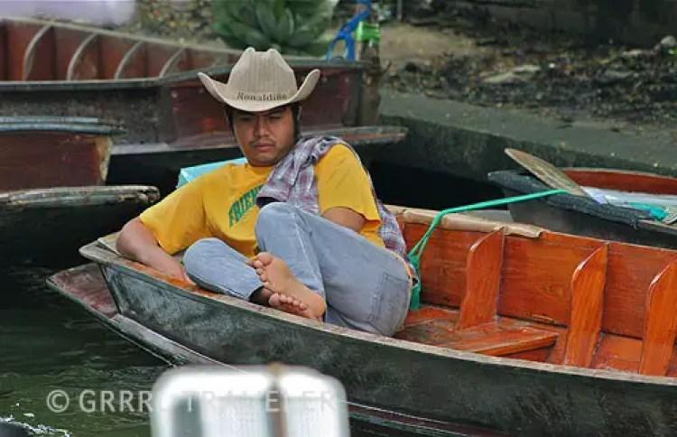 Damnoen Saduak boat, Bangkok khlongs