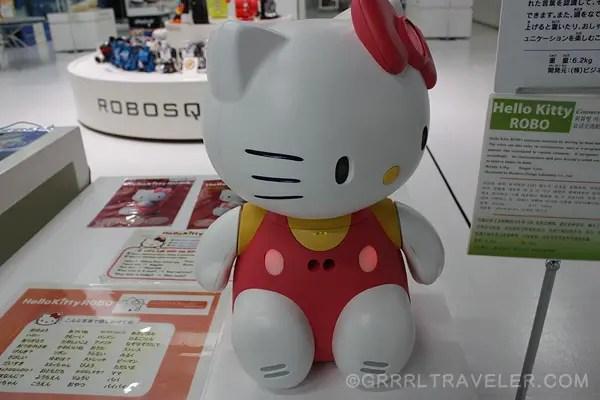 hello kitty talks, hello kitty japan robot
