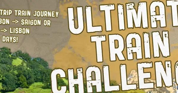 Ultimate Train Challenge- 2013 Train Challenge