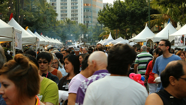 Spam Jam Festival Waikiki , spam jam waikiki, spam recipes hawaii, local hawaii foods, SPAM events, spam jam attendance
